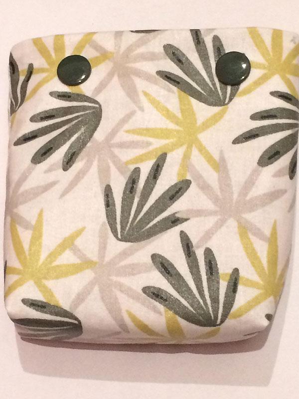 Pochette savon palmiers