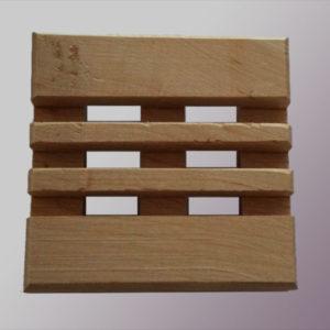 Porte savons en bois