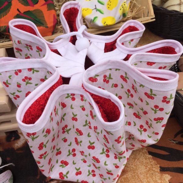 sac à maillot cerise rouge